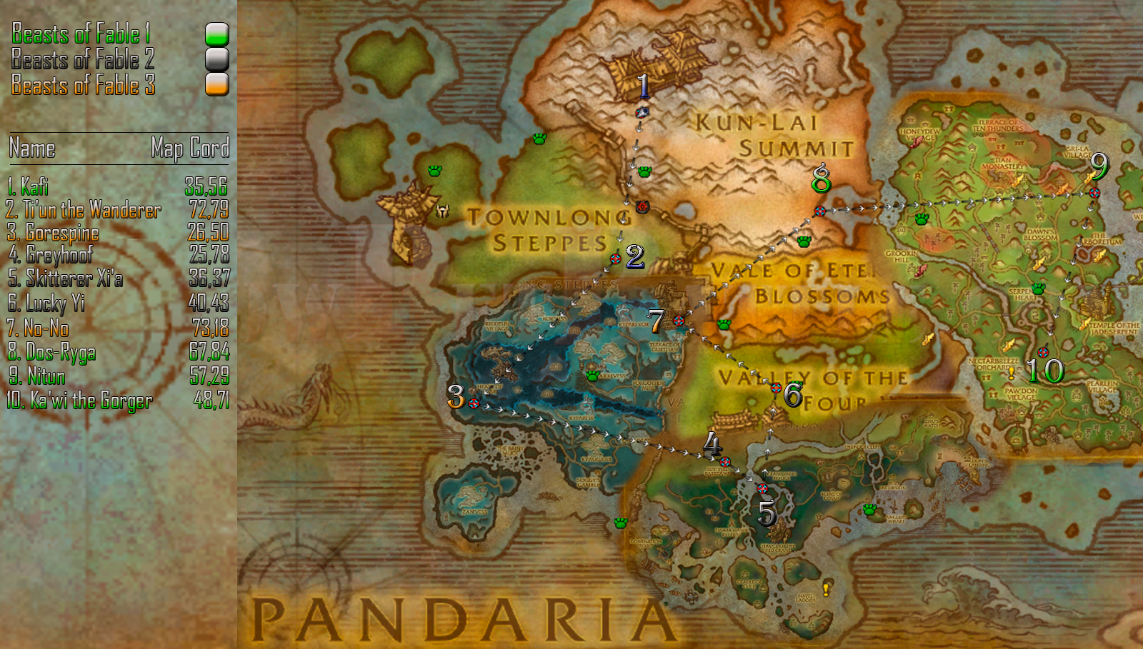 Fable 3 Map Detailed – HD Wallpapers